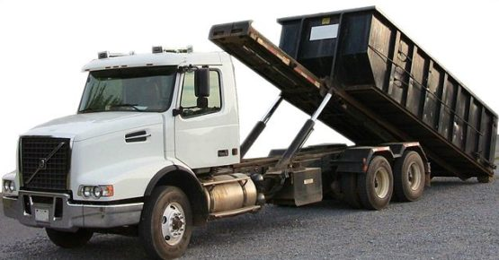 Image of a Roll Off Dumpster Rental truck in Long Beach, CA