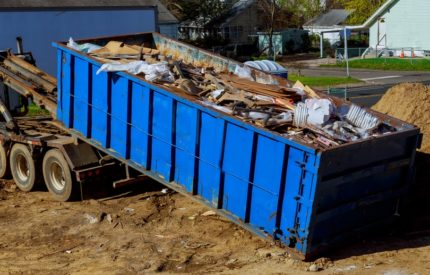 Image of a 40 foot dumpster rental in Long Beach, CA.